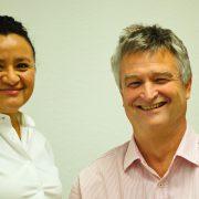 Zahnarzt Dr. Hermann Wunderlich und Zahnärztin Jenny Kraiser in Zahnarztpraxis Dr. Wunderlich in München Sendling